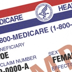 medicare card square